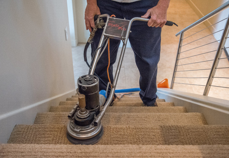 Stair Rotary Cleaning